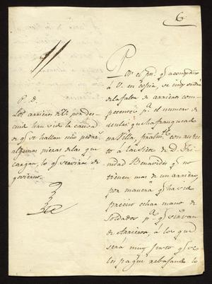 Primary view of [Letter from Anastasio Bustamente to the Laredo Alcalde, March 17, 1827]