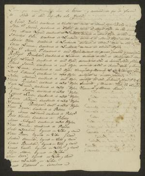 Primary view of object titled '[Letter from Miguel Camero to the Laredo Ayuntamiento, February 22, 1833]'.