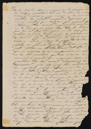 Primary view of object titled '[Copy of a Document Signed by Antonio Cuellar]'.
