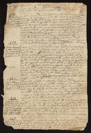 Primary view of object titled '[Official Correspondence from the Laredo Alcalde and Ayuntamiento]'.
