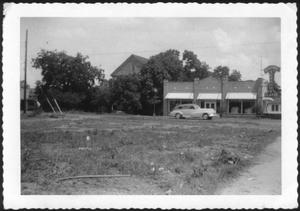 Primary view of object titled '[W. K. Davis home and Electric Service H L & P Co.]'.