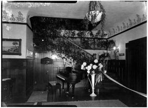 Primary view of object titled 'Interior of the Brite Home'.