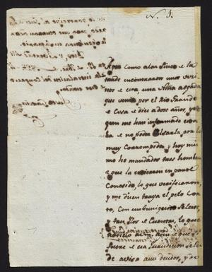 Primary view of object titled '[Letter from Justo García to the Laredo Alcalde, September 19, 1827]'.