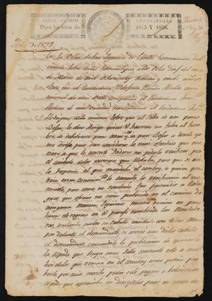 Primary view of [Statement Concerning a Dispute between Two Individuals]