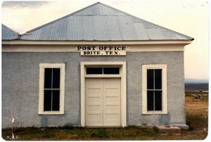 Primary view of object titled 'Post Office & Store at the Brite, Ranch'.