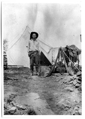 Primary view of object titled 'High Lonesome Camp of Lee Trimble'.