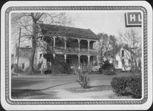 Primary view of object titled '[Front of the W. K. Davis home]'.