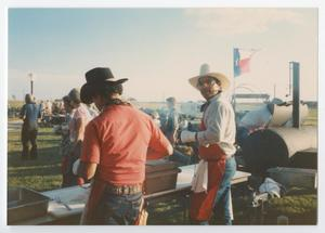 Primary view of object titled '[Cowboy Cooks]'.