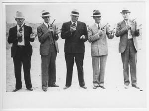 Early Pistol Team of Marfa Border Patrol