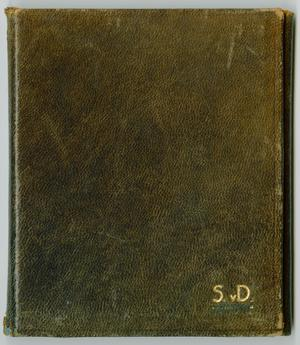 Primary view of object titled '[Threefold Leather Photo Wallet]'.