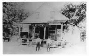 Primary view of object titled 'Prude and Hood Store'.