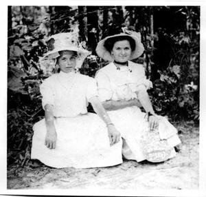 Primary view of object titled 'Ethel Christian and Bernice Barfiels'.