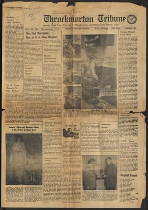 Throckmorton Tribune (Throckmorton, Tex.), Vol. 73, No. 47, Ed. 1 Thursday, June 29, 1961