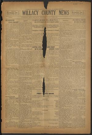 Primary view of object titled 'Willacy County News (Raymondville, Tex.), Vol. 8, No. 15, Ed. 1 Thursday, April 16, 1925'.