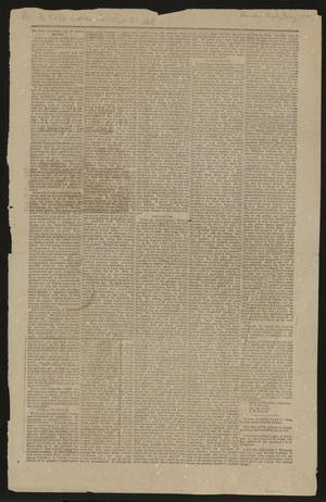 Primary view of object titled '[The Bandera Bugle] (Bandera, Tex.), Ed. 1 Saturday, May 6, 1882'.
