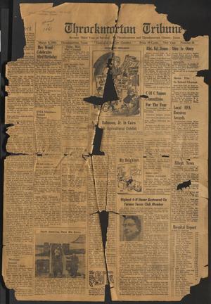 Throckmorton Tribune (Throckmorton, Tex.), Vol. 73, No. 31, Ed. 1 Thursday, March 9, 1961