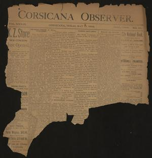 Primary view of object titled 'Corsicana Observer. (Corsicana, Tex.), Vol. 33, No. 30, Ed. 1 Friday, May 17, 1889'.