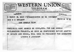 western union telegram the portal to texas history. Black Bedroom Furniture Sets. Home Design Ideas