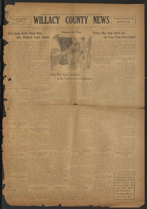 Primary view of object titled 'Willacy County News (Raymondville, Tex.), Vol. 7, No. 16, Ed. 1 Thursday, April 24, 1924'.