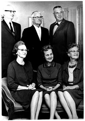 Primary view of object titled 'M.D. Bryant with His Brothers and Sisters, 1964'.