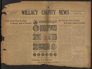Primary view of object titled 'Willacy County News (Raymondville, Tex.), Vol. 7, No. 11, Ed. 1 Thursday, March 13, 1924'.