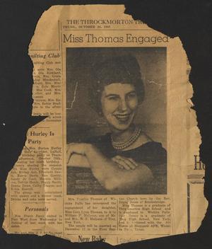 Throckmorton Tribune (Throckmorton, Tex.), Ed. 1 Thursday, October 26, 1961