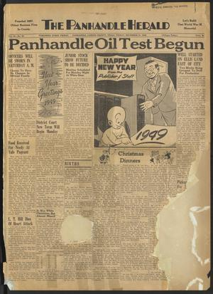Primary view of object titled 'The Panhandle Herald (Panhandle, Tex.), Vol. 62, No. 24, Ed. 1 Friday, December 31, 1948'.