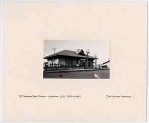 [T&P Station in Monahans, Texas]