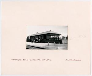 Primary view of object titled '[T&P Station in Clyde, Texas]'.