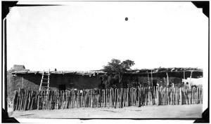 Primary view of object titled 'Adobe House at El Boracho Ranch'.