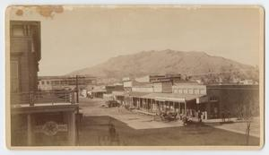 Primary view of object titled '[Francis Parker Photo of El Paso]'.