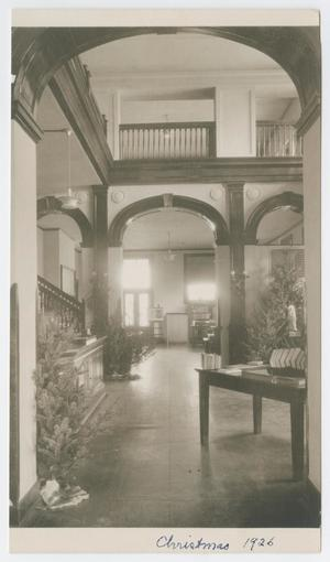 [Carnegie Library Lobby Looking Right]