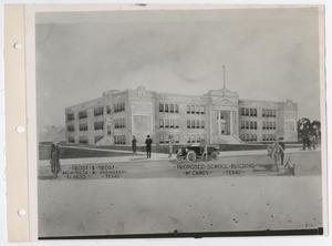 [Proposed School Building in McCamey, Texas]