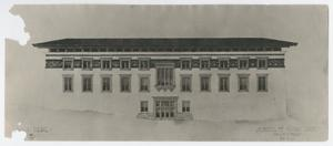 Primary view of object titled '[Old Main, University of Texas at El Paso]'.