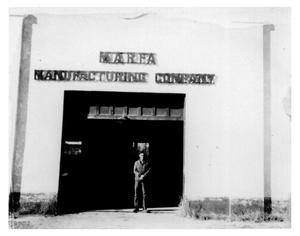Primary view of object titled 'Marfa Manufacturing Company'.