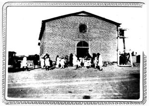 Primary view of object titled 'Shafter School'.
