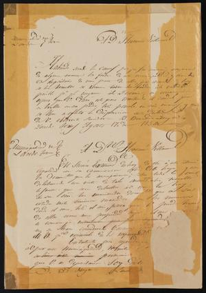 [Letter from Letter from the Laredo Mayor to Francisco Villarreal, August 17, 1850]