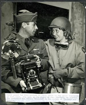 Primary view of object titled 'Jimmie Keith and Joan Blondell'.