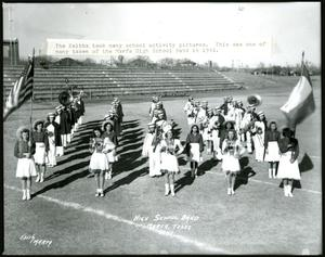 Primary view of object titled 'Marfa High School Band in 1941'.