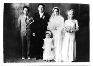 Primary view of object titled '1930 Wedding'.