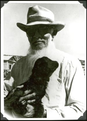 Primary view of object titled 'Frank Duncan in Terlingua'.