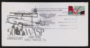Primary view of object titled '[50th Anniversary WASP Historic Monument Dedication Envelope #3]'.