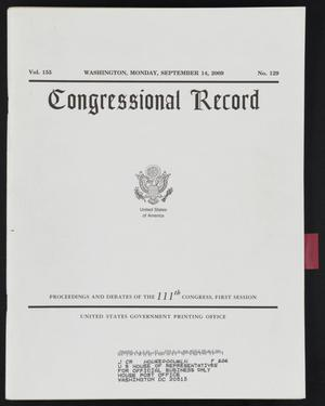 Primary view of object titled 'Congressional Record: Proceedings and Debates of the 111th Congress, First Session'.