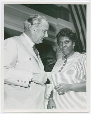 [Barbara Jordan and Lyndon B. Johnson]