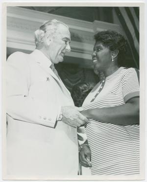 [Barbara Jordan and Lyndon B. Johnson #2]