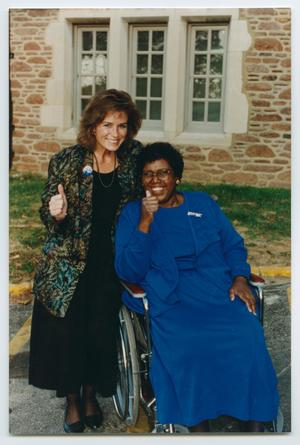 [Barbara Jordan Posing at an Abilities Expo]