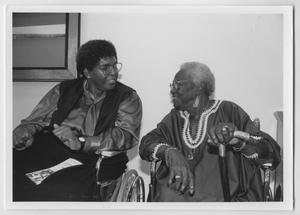 [Barbara Jordan with an Unidentified African-American Woman]