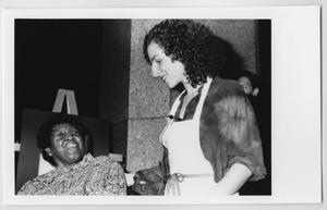 [Barbara Jordan with a Woman]