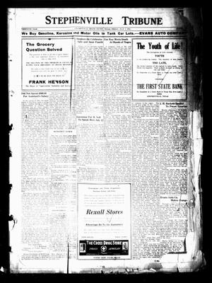 Primary view of object titled 'Stephenville Tribune (Stephenville, Tex.), Vol. 30, No. [28], Ed. 1 Friday, July 7, 1922'.