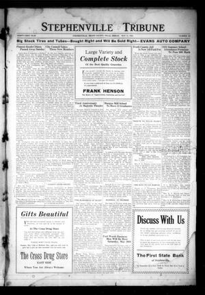 Primary view of object titled 'Stephenville Tribune (Stephenville, Tex.), Vol. 31, No. 20, Ed. 1 Friday, May 11, 1923'.